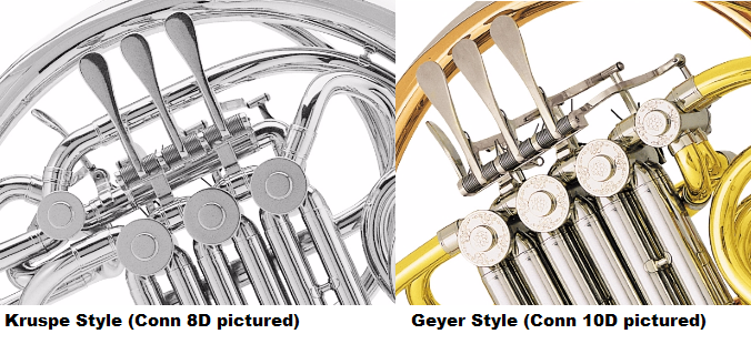 kruspe vs geyer french horn